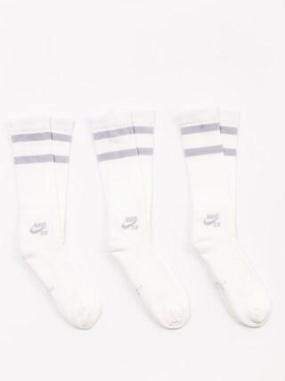 Skarpetki Nike SB Sb Crew 3 Pk (white/wolf grey)