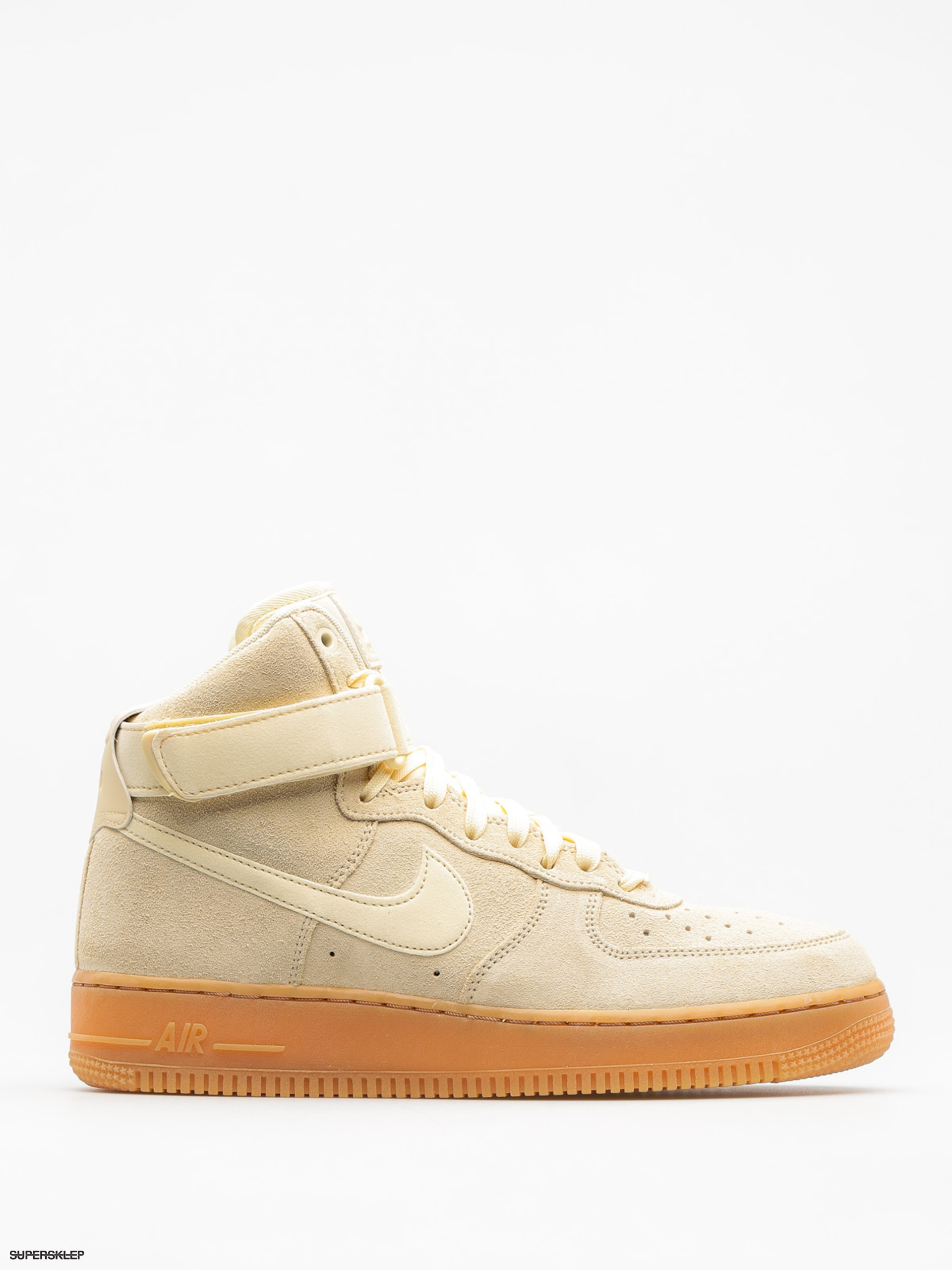 Buty Nike Air Force 1 High 07 Lv8 (muslin/muslin gum med brown ivory)