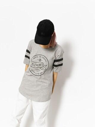 T-shirt Element Flag Fb Wmn (heather grey)