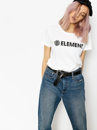 T-shirt Element Logo Wmn (white)