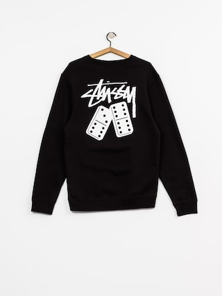 Bluza Stussy Dominos Crew (black)
