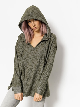 Bluza z kapturem Roxy Wanted And Wild HD Wmn (dusty olive)