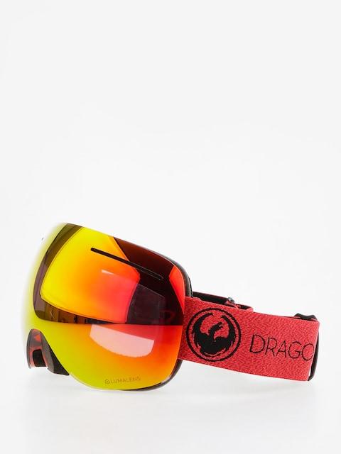 Gogle Dragon X1 (mill/lumalens red ion/l rose)