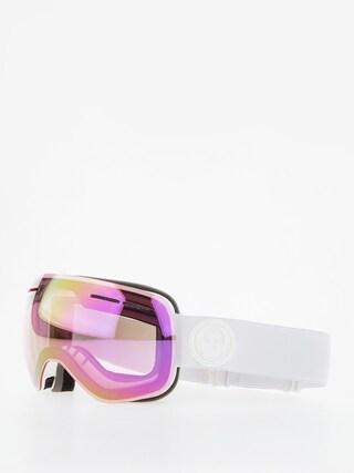 Gogle Dragon X1s (whiteout/lumalens pink ion/dark smoke)