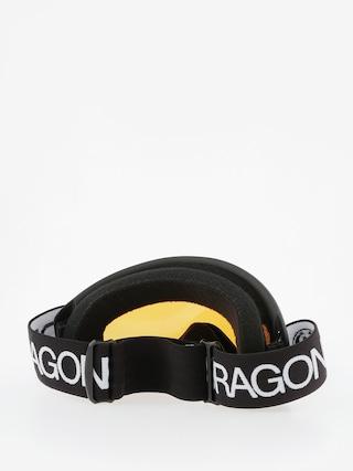 Gogle Dragon DX (black/lumalens silver ion)
