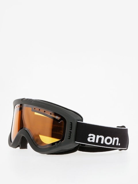 Gogle Anon Tracker (black/amber)