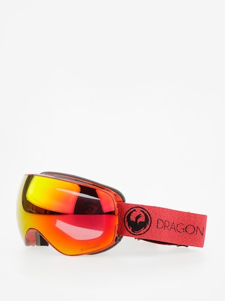 Gogle Dragon X2s (mill/lumalens red ion/l rose)