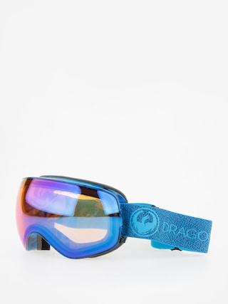 Gogle Dragon X2s (mill/lumalens blue ion/l amber)