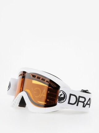 Gogle Dragon DXS (white/lumalens amber)