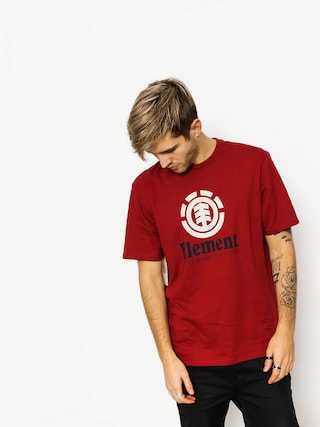 T-shirt Element Vertical (rio red)