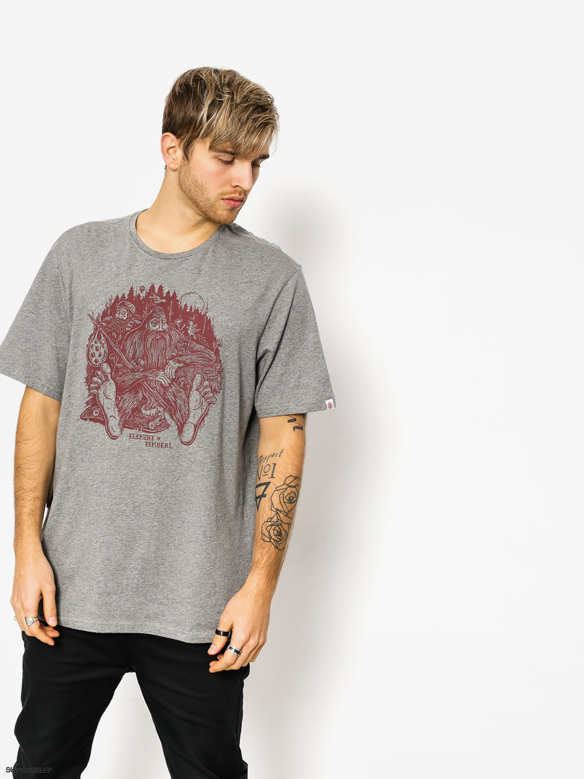 T-shirt Element Found (grey heather)