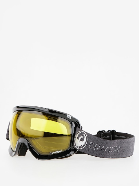 Gogle Dragon D3 (echo/transitions yellow)