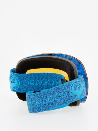 Gogle Dragon X1s (mill/lumalens blue ion/l amber)