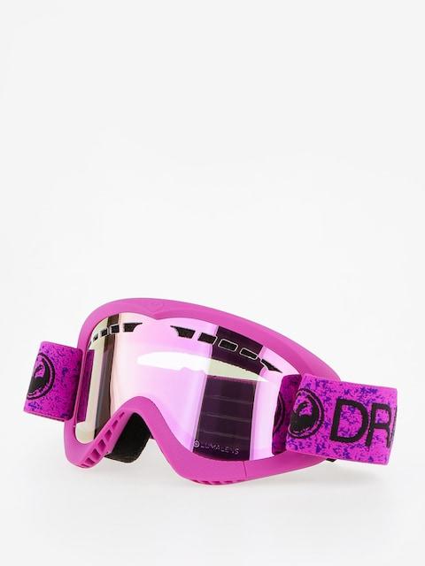 Gogle Dragon DXS (violet/lumalnes pink ion)