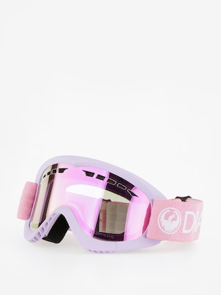 Gogle Dragon DXS (light pink/lumalens pink ion)