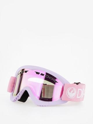 Gogle Dragon DXS (light pink/lumalens pink ion)