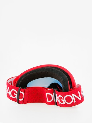Gogle Dragon DX (red/lumalens red ion)