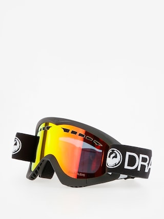 Gogle Dragon DXS (black/lumalens red ion)
