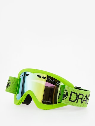 Gogle Dragon DXS (green/lumalens gold ion)
