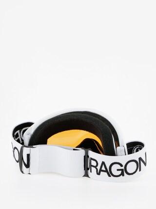 Gogle Dragon DXS (white/lumalens silver ion)