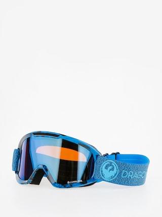 Gogle Dragon DX2 (mill/lumalens blue ion/l amber)