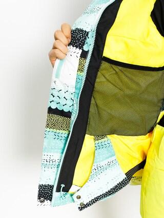 Kurtka snowboardowa Roxy Jet Ski Wmn (aruba blue lizzydots)