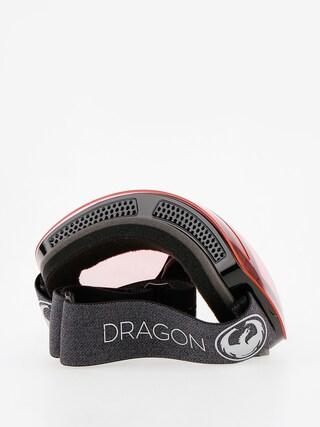 Gogle Dragon X1 (echo/transitions light rose)
