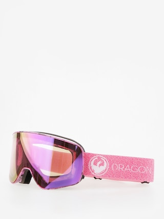 Gogle Dragon NFX2 (mill lumalens pink ion/dark smoke)