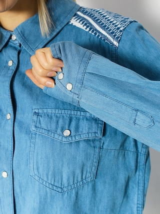 Koszula Roxy Lightdown Wmn (medium blue)
