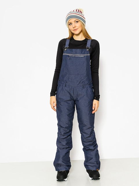 Spodnie snowboardowe Roxy Non Stop Bib Wmn (peacoat)