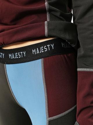 Kalesony Majesty Surface Base Layer Pant Wmn (burgundy)