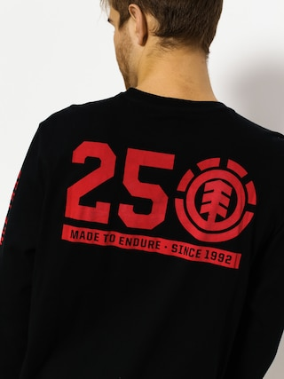 Longsleeve Element 25 Year (flint black)