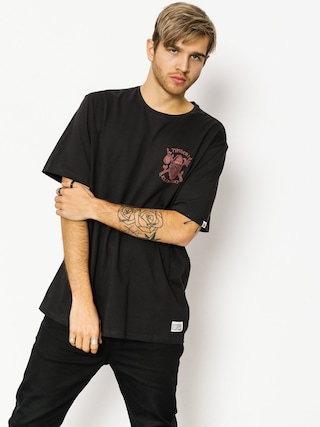 T-shirt Element Shelter (off black)