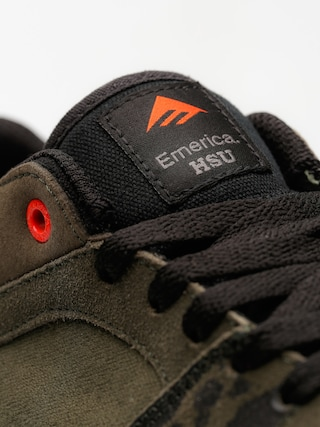 Buty Emerica The Hsu Low Vulc (green/black/white)