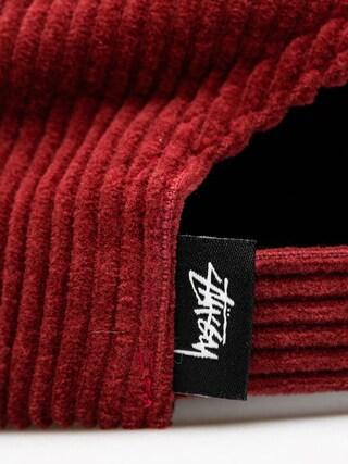 Czapka z daszkiem Stussy Cord Strapback ZD (burgundy)