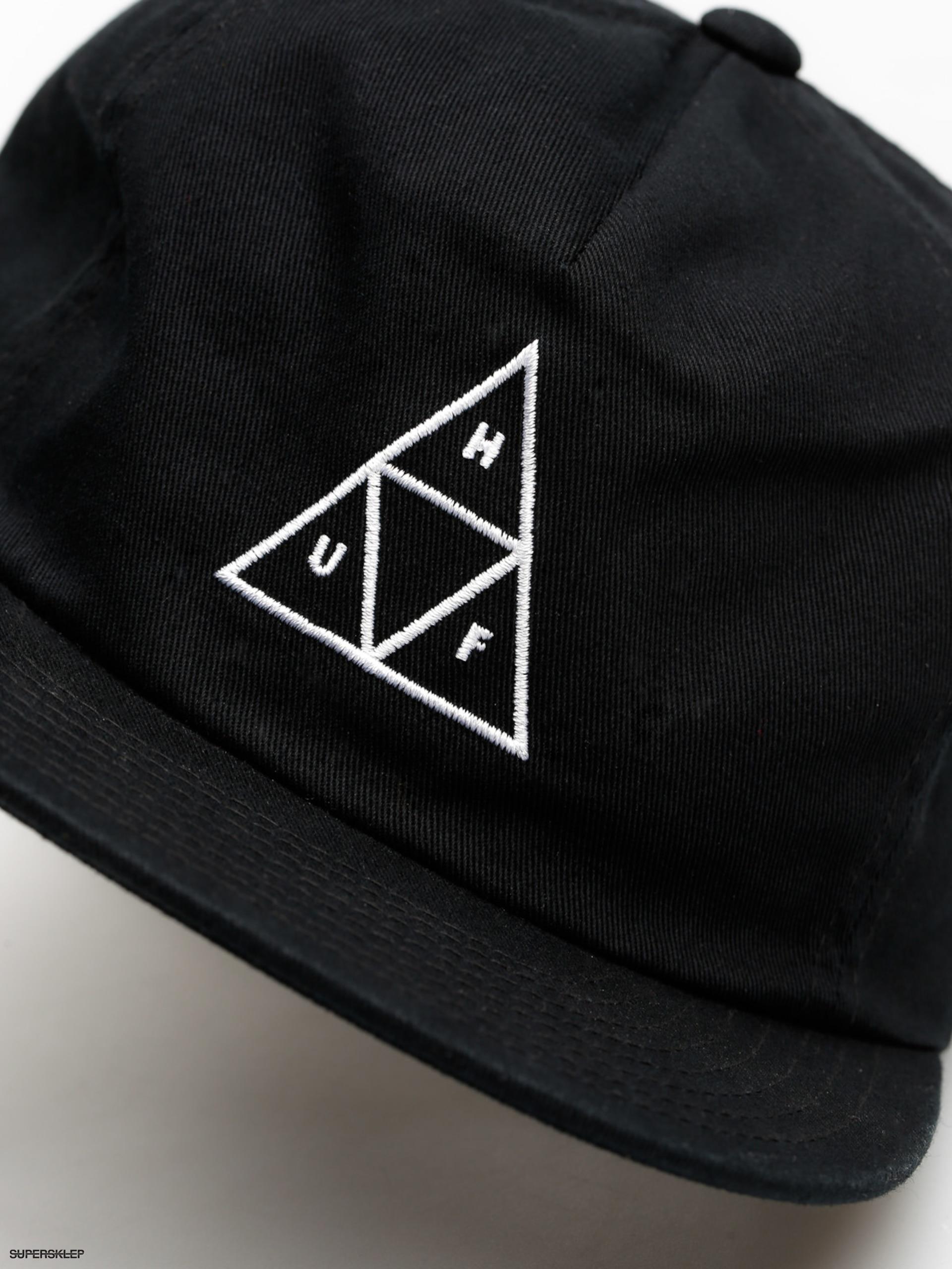 894ebd09fd1 Czapka z daszkiem HUF Wash TT ZD (black)