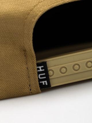 Czapka z daszkiem HUF Triple Triangle ZD (khaki)