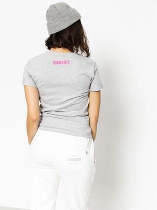 T-shirt Diamante Wear Flamingo Wmn (grey)