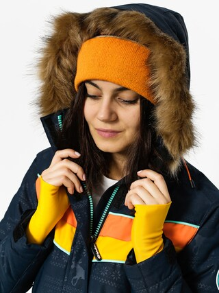 Kurtka snowboardowa Rehall Kara Wmn (raindeer navy embossed)