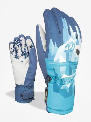Rękawice Level Bliss Coral Wmn (light blue)