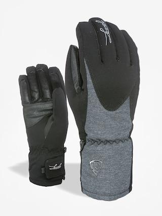 Rękawice Level Alpine Wmn (black/grey)