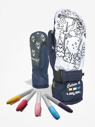 Rękawice Level Pop Art Jr Mitt (navy)