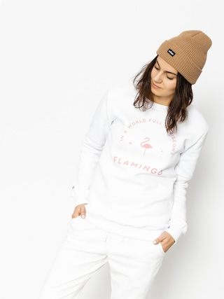 Bluza Diamante Wear Flamingo Wmn (white)