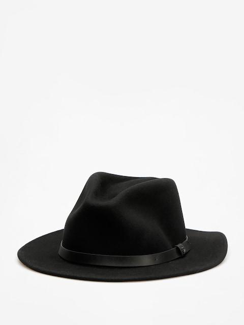 Kapelusz Brixton Messer Fedora (black/black)