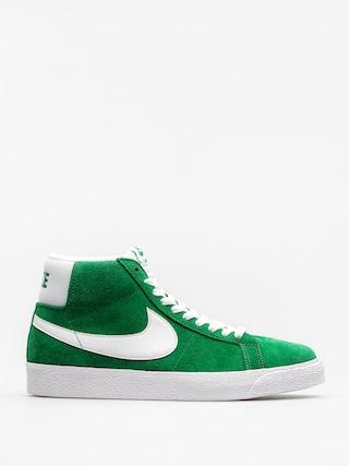 Buty Nike SB Zoom Blazer Mid (pine green/white)