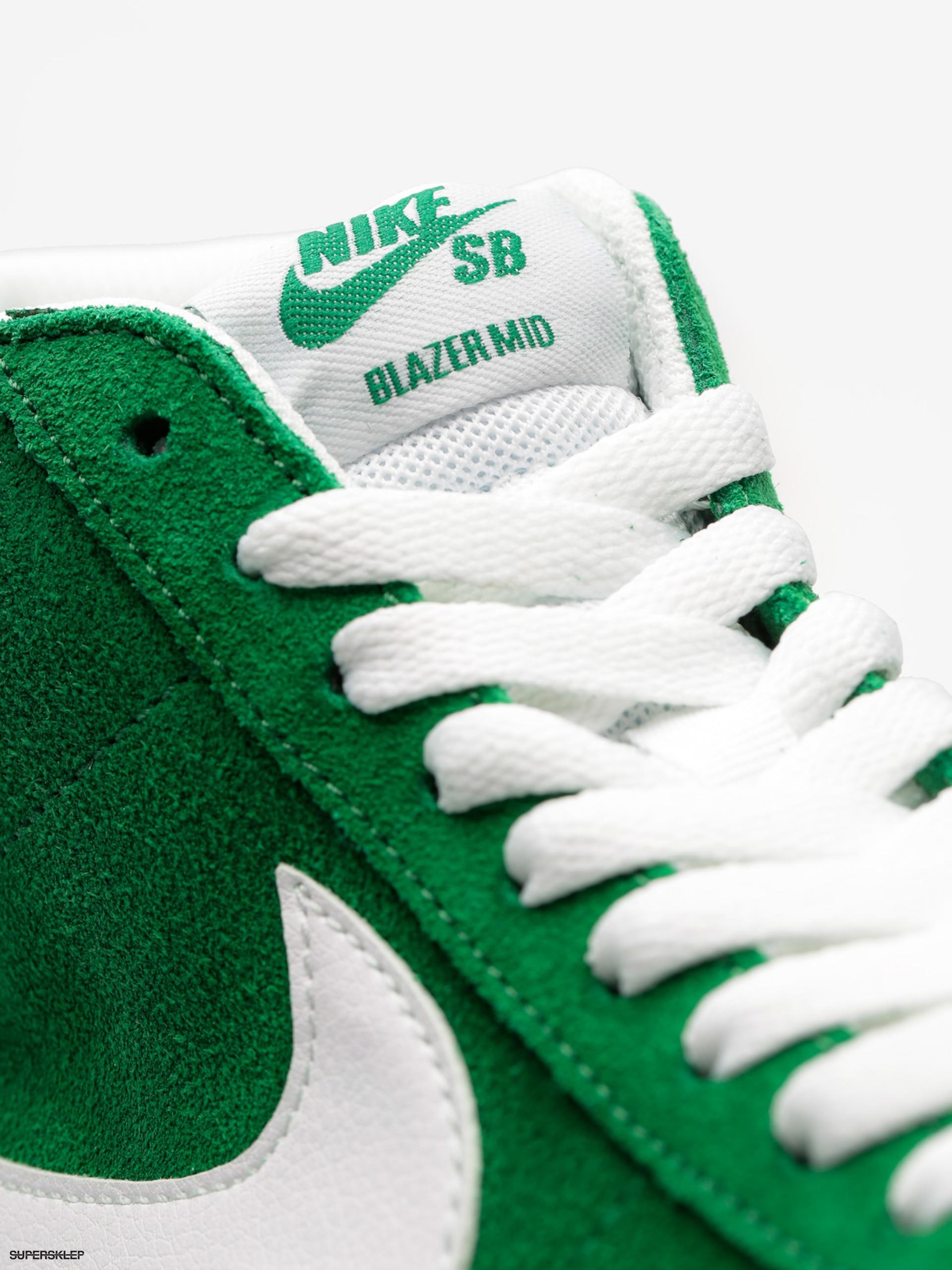 huge discount 6c80c aab45 Buty Nike SB Zoom Blazer Mid (pine green/white)