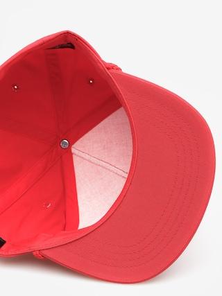 Czapka z daszkiem Brixton Freaked Out Snap ZD (red)