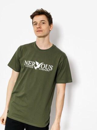 T-shirt Nervous Classic (olive)