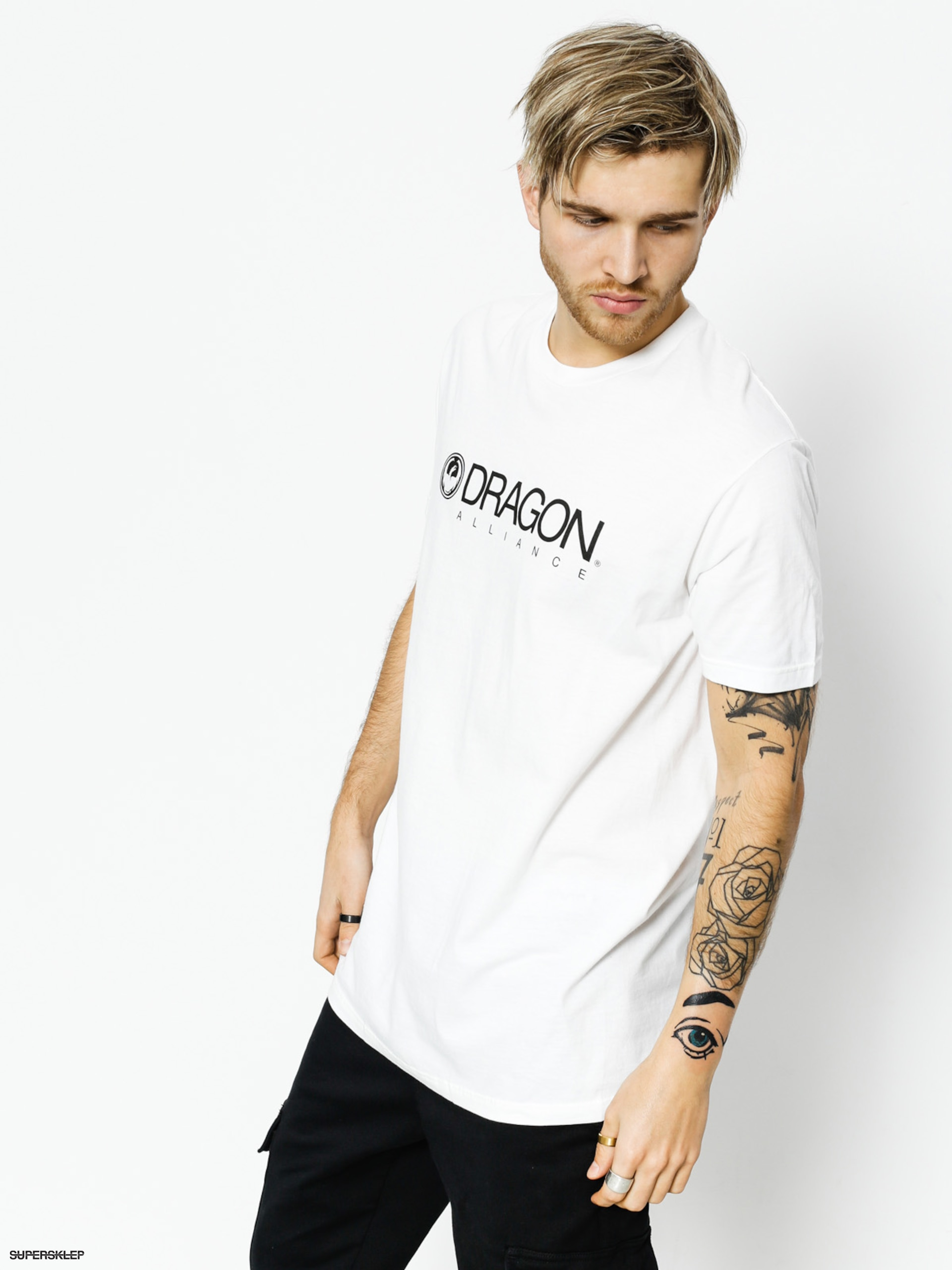 T-shirt Dragon Trademark Staple Line (white)