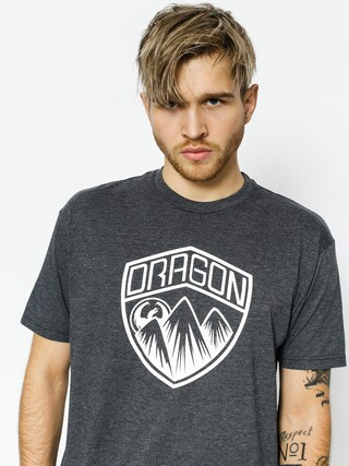 T-shirt Dragon Badge (charcoal heather)